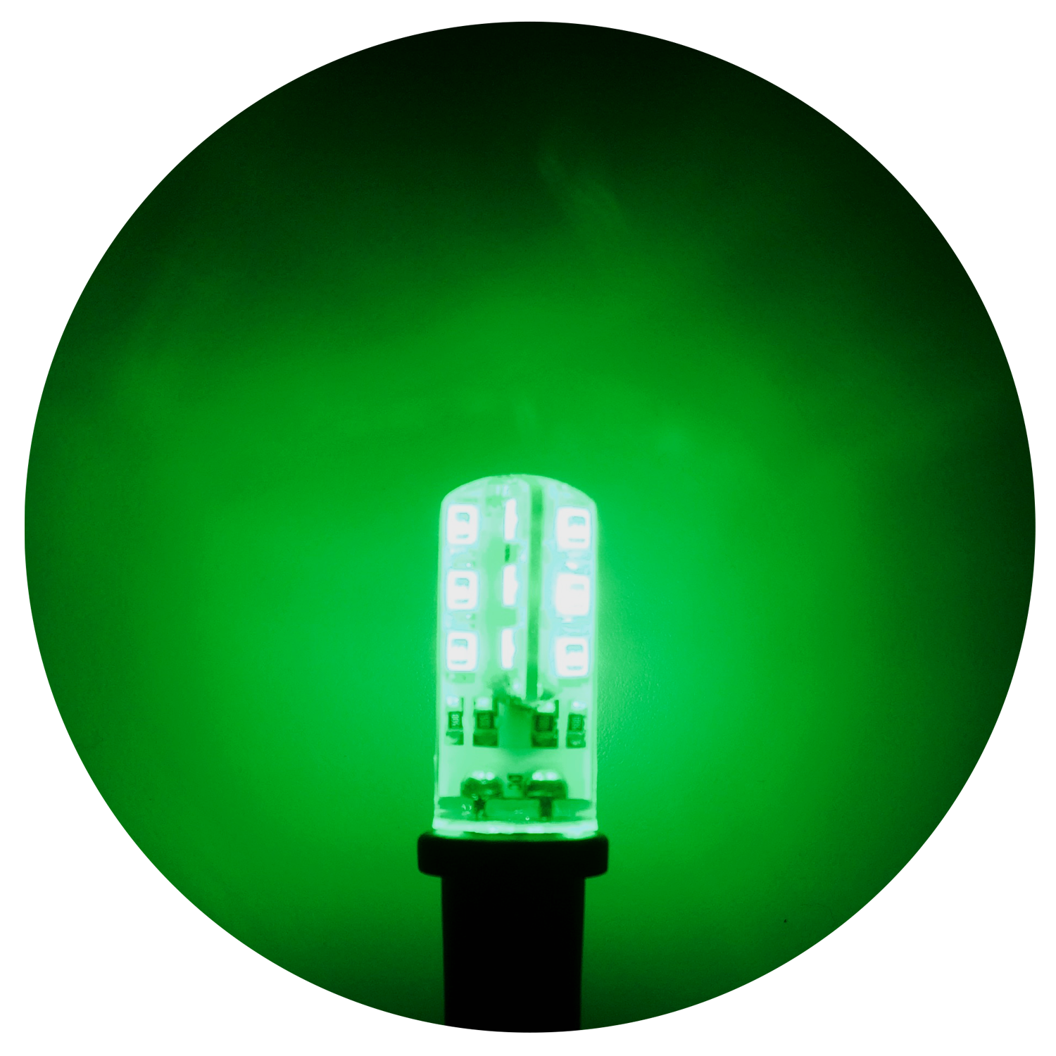 bulbs bulb led smooth christmas p light green