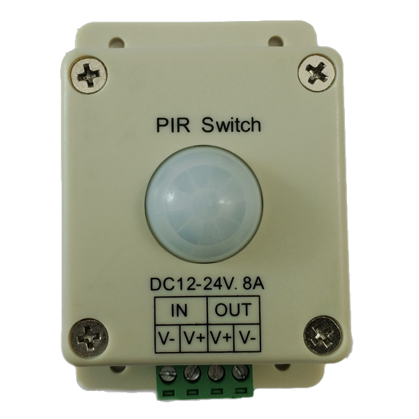 motion sensor for 12V DC LED lighting