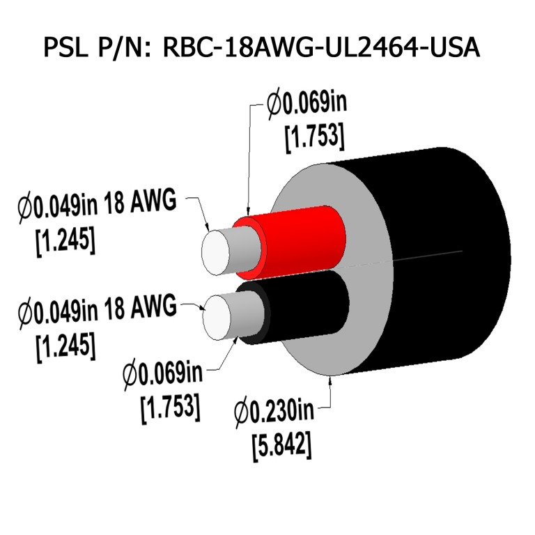 UL2464-low-voltage-power-cable 18-awg